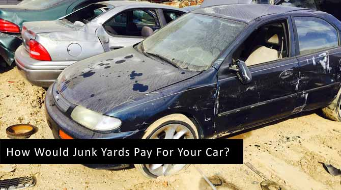How Much Do Junk Yards Pay for Cars flyer